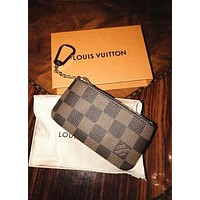 Louis Vuitton LV classic men and women change coin purse zipper key case