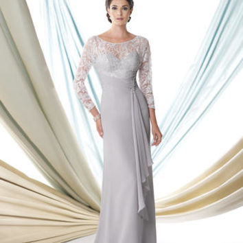Mother of the Bride Dresses – Montage by Mon Cheri 114920 Lace Sleeves