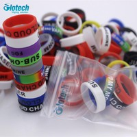 20PCS silicone rubber band vape ring for 18650 22mm rda mechanical mods