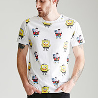 SpongeBob Print Cotton Tee