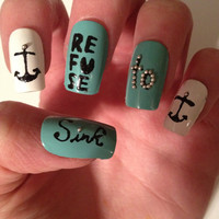 Refuse to sink Acrylic Nails
