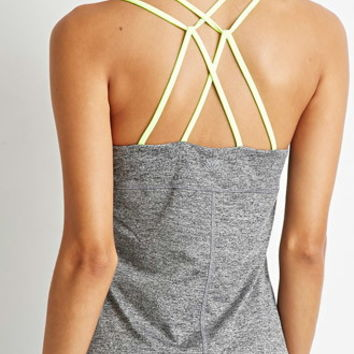 Strappy-Back Athletic Tank