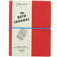 medium red noto journal at Paperchase