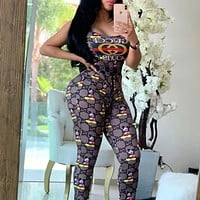 GUCCI Fashion Women Casual Jumpsuit