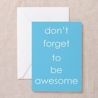 You Are Awesome Greeting Card