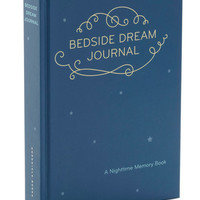Dorm Decor Bedside Dream Journal by Chronicle Books from ModCloth
