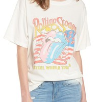 Day by Daydreamer Rolling Stones Boyfriend Tee | Nordstrom