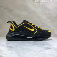 KUYOU N961 Nike Air Max 720 Nano - drop molded version of cushioned running shoes Black Yellow