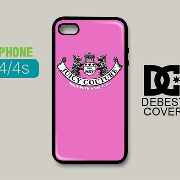 Juicy Couture Logo iPhone Cases