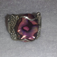 Leopard Like Wire Wrapped Ring, Custom Made to order Unique.