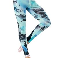 Floral Print Leggings - See You Monday