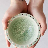 Plum & Bow Enid Catch-All Dish- Green One