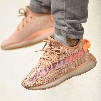 Adidas Yeezy Boost 350 V2 Kids Clay Sneakers Shoes
