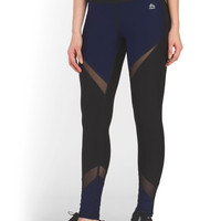 Mesh Inset Colorblock Legging - Pants - T.J.Maxx