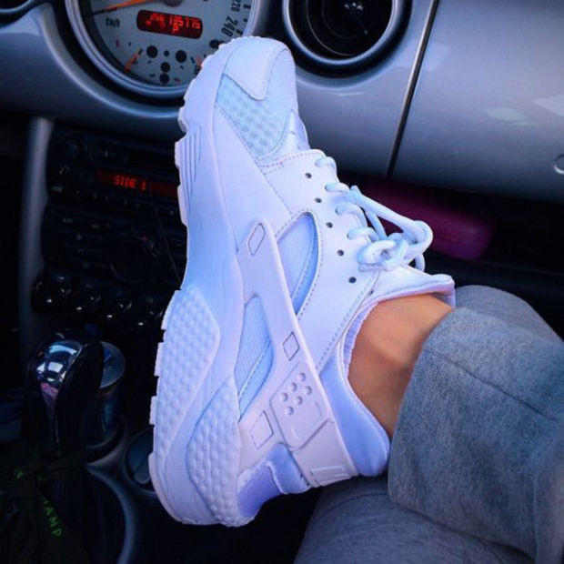 """Image of """"NIKE"""" Women Casual Running Sport Shoes Sneakers White"""