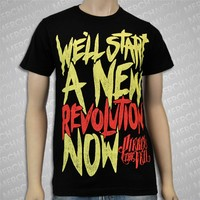 New Revolution Black : PTV0 : MerchNOW - Your Favorite Band Merch, Music and More