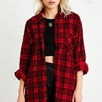 Vintage Renewal Oversized Flannel Shirt in Tartan - Urban Outfitters