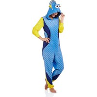 Disney Finding Dory Women's and Women's Plus License Sleepwear Adult Onesuit Costume Union Suit Pajama (XS-3X) - Walmart.com