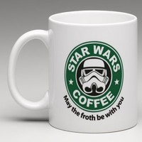 Starbucks Star Wars Inspired Stormtrooper Coffee Mug Tea Cup from Phone Fluff