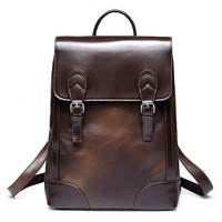 Brand Preppy Style vintage School Bag Backpack For man Simple Design Men Casual Daypacks mochila male New travel bag