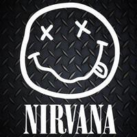 Nirvana Grunge Kurt Cobain Face Car Decal / Laptop Sticker