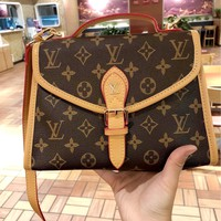 LV 2019 new women's high quality high-end versatile handbag shoulder bag