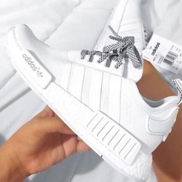 """ADIDAS"" Trending Fashion Casual Sports Shoes White"