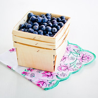 Wooden Berry Baskets: Natural