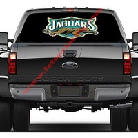 Jacksonville Jaguars-Rear Window Decal-Graphic
