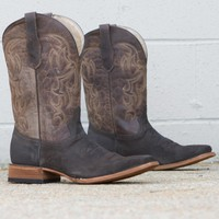 Circle G Embroidered Cowboy Boot