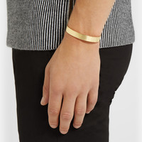 Le Gramme - Le 33 Polished Yellow Gold Cuff | MR PORTER