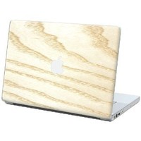 """White Ash """"Protective Decal Skin"""" for Macbook 15"""" Laptop"""