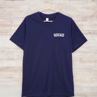 Squad Shirt Pocket Shirt Tumblr Funny Tee Shirt Saying Shirt Trendy Tshirt Fashion Tees Quote Slogan Tee Unisex Tshirt Men Tshirt Women