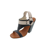 Diesel Womens Sexy Bullet Pick a Fight Leather Harness Open-Toe Heels