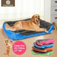 Self Warming Dog Or Cat Bed For Indoors, Kennel Or Outdoors-Soft, Durable and Waterproof
