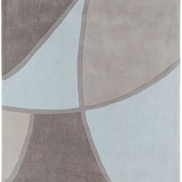 Cosmopolitan Area Rug Blue, Gray