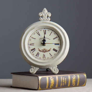 Creative Home Decor Vintage Accessory Wooden Clock [6282951366]