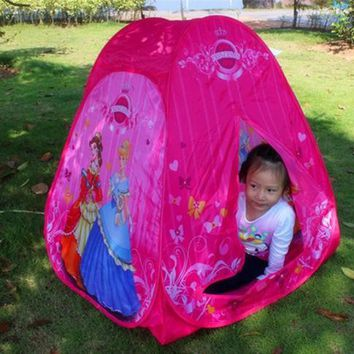 kid's  play house tent toys baby girl princess tent indoor and outdoor tent