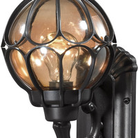 "0-011381>13""h 1-Light Outdoor Wall Lantern Oil Rubbed Bronze"