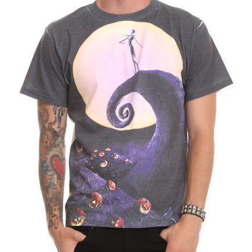The Nightmare Before Christmas Moon T-Shirt | Hot Topic
