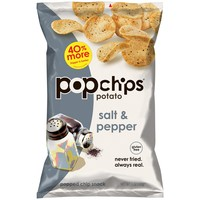 Order Popchips Potato Popped Chip Snack, Salt and Pepper | Fast Delivery