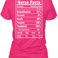 Nurse Facts T-Shirts and Hoodies