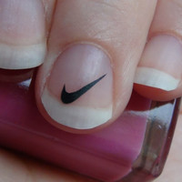 Nike nail decal stickers set of 25