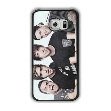 All Time Low (Group Close Up) B00Exw9Ncm Galaxy S6 Edge Case