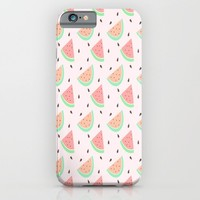 Cute Watermelon iPhone & iPod Case by Adorkible
