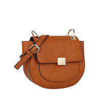 Fold Over Faux Leather Shoulder Bag. Can Be Crossbody. Lining. Taupe, Tan or Black.