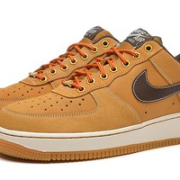 Nike Air Force 1 488298-704 Yellow For Women Men Running Sport Casual Shoes Sneakers