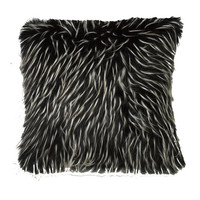 Mercury Row Deluxe Shag Throw Pillow