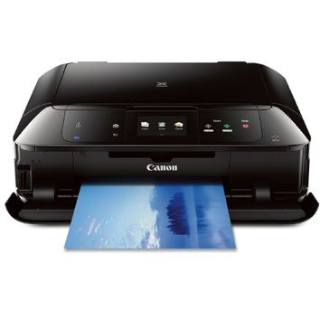 CANON MG7520 Wireless Color Cloud Printer with Scanner and Copier, Black (Discontinued By Manufacturer)