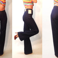 """Dead Stock Vintage 1970's Levi's Orange Tab 27 to 28 x 36"""" UNWORN Rare Bell Bottoms 